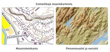 maastokartat