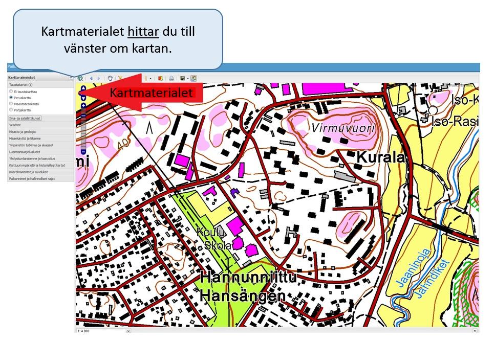 kartmaterialet
